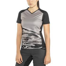 PEARL iZUMi Launch Fietsshirt korte mouwen Dames, black/black vista